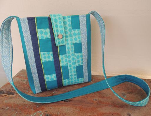 modern patchwork bag
