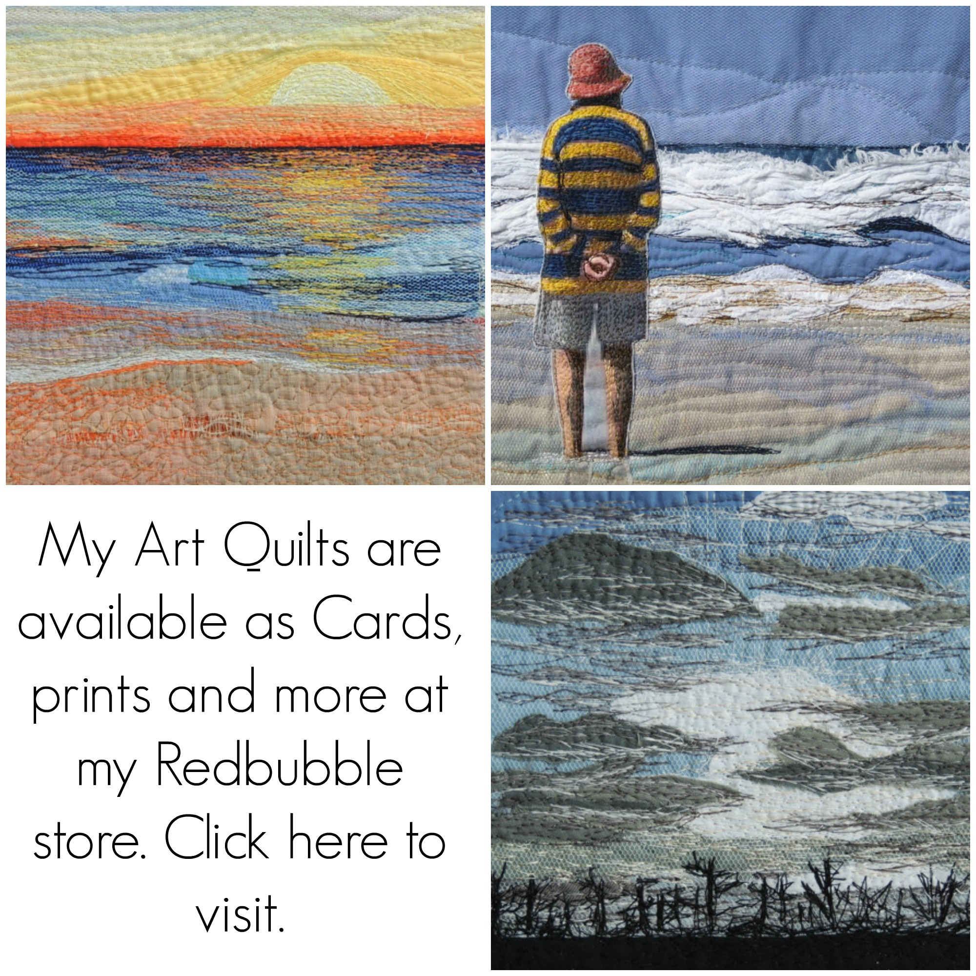 Art Quilts Cards, prints and more